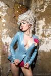 Miss Miranda wearing Lady Lucie Latex