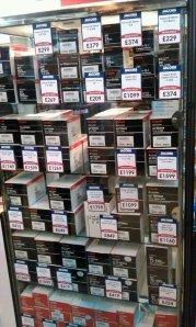 Canon lens prices
