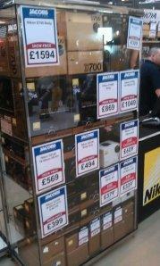 Nikon camera prices at focus on imaging