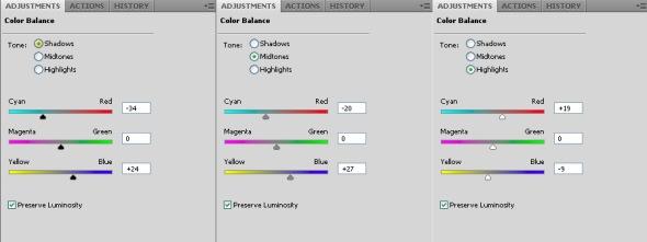 Colour Balance Layer