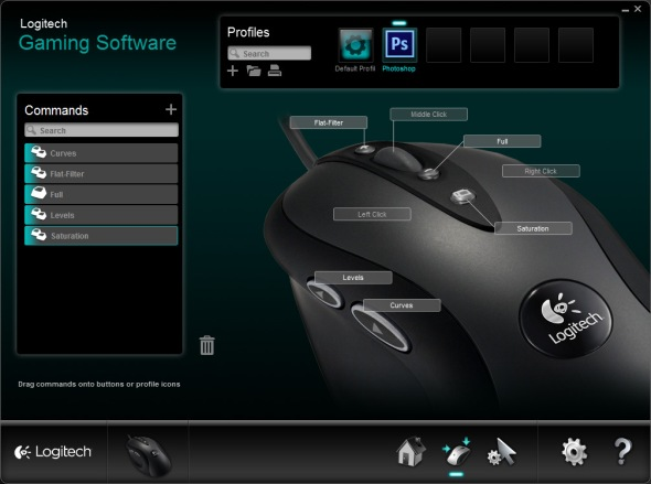 Mouse key combination G400
