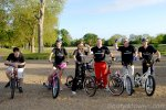 Stepper Bike UK Do London to Brighton - clapham